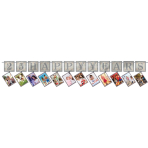 Sparkling Silver Anniversary Prismatic Photo Garlands 3.65m - 6 PC