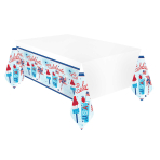 Celebrate USA Plastic Tablecovers 1.37m x 2.6m - 6 PC