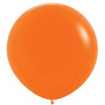 "Fashion Colour Solid Orange 061 Latex Balloons 36""/91.5cm - 2 PC"