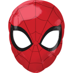 "Spider-Man Animated Junior Shape Foil Balloons 12""/30cm x 17""/43cm S60 - 5 PC"