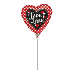 Heart to Heart Mini Foil Balloons A15 - 5 PC