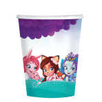 Enchantimals Paper Cups 250ml - 6 PKG/8