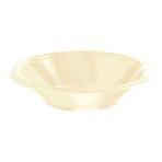 Vanilla Creme Plastic Bowls 355ml- 10 PKG/20