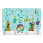 Scooby Doo Swirls Decorations Pack - 6 PKG/12