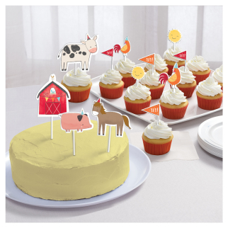 Barnyard Birthday Cake Topper Kits