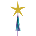 Mermaid Wishes Glitter Wands - 9 PKG/6