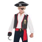 Child Pirate Kit - 6 PC