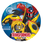 Transformers Robots in Disguise Paper Plates 23cm - 10 PKG/8