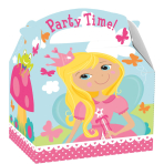 Woodland Princess Party Boxes 15cm x 10cm x 17cm - 75 PKG