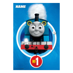 Thomas & Friends Loot Bags - 6 PKG/8