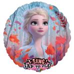 Frozen II Jumbo Sing-a-Tune Foil Balloons P75 - 5 PC