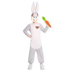 Bugs Bunny Costume - Size 6-8 Years - 1 PC