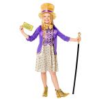 Willy Wonka Costume - Age 8-10 Years - 1 PC
