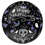 "Moonlight Halloween Orbz Foil Balloons 15""/38cm x 16""/40cm G20 - 5 PC"
