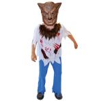 Boys Werewolf Costume - Age 9-11 Years - 1 PC