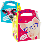 Favours Party Boxes Farm Animals - 75 PC