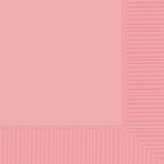 Light Pink Beverage Napkins 2ply 23cm - 12 PKG/20
