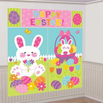 Easter Bunny Scene Setters - 9 PKG/5