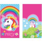 Unicorn Folded Invitations - 10 PKG/8