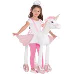 Ride On Unicorn Light & Sound Costume - Age 3+ Years - 1 PC