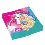 Barbie Dreamtopia Luncheon Napkins 33cm - 10 PKG/20
