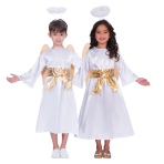 Gabriel Unisex Angel Costume - Age 3-4 Years - 1 PC