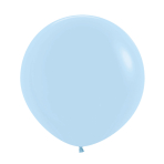 "Pastel Matte Solid Blue 640 Latex Balloons 36""/91.5cm - 2 PC"