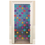 The Party Continues 40th Door Curtains 2m - 6 PKG