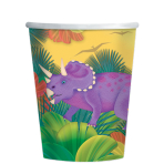 Prehistoric Party Paper Cups 266ml - 12 PKG/8