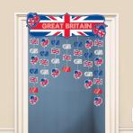 Great Britain Icons Door Curtains 1.2m h x 91cm w - 6 PKG
