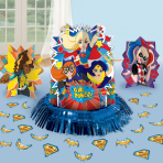 DC Super Hero Girls Table Decoration Kits - 6 PKG