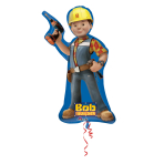 "Bob the Builder Double Sided SuperShape Foil Balloons 18""/45cm w x 35""/88cm h P38 - 5 PC"