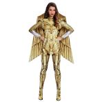 Wonder Woman Gold Hero Costume - Size 10-12 - 1 PC
