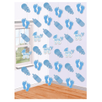 Baby Boy String Decorations - 6 PKG/6