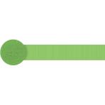Kiwi Green Crepe Streamers 4.4.cm x 24.7m - 12 PC