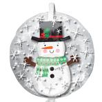 "Snowman Insiders Balloons 24""/60cm w x 24""/60cm h P45 - 5 PC"