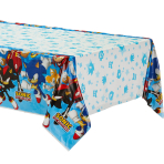 Sonic the Hedgehog Plastic Tablecovers 1.3m x 2.4m - 6 PC