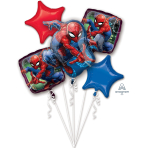 Spider-Man Foil Balloon Bouquets P75 - 3 PC