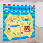 Party Pirate Scene Setters - 12 PKG/5 - 1.65m x 1.9m