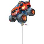 "Blaze Double Sided Mini Foil Balloons 10""/25cm w x 8""/20cm h A30 - 5 PC"