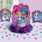 Shimmer & Shine Table Decoration Kits - 6 PC