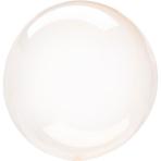 "Crystal Clearz Orange Unpackaged Balloons 18""/46cm S40 - 10 PC"