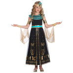 Dazzling Cleo Costume - Age 8-10 Years - 1 PC