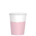Rose Gold Paper Cups 250ml - 12 PKG/8