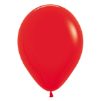 """Fashion Colour Solid Assorted Latex Balloons 12""""/30cm - 25 PC"""