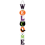 Welcome MDF Signs 71cm - 6 PC