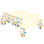 Minions Paper Tablecovers 1.8m x 1.2m - 6 PC