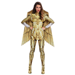 Wonder Woman Gold Hero Costume - Size 12-14 - 1 PC
