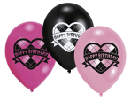 Happy Birthday Latex Balloons - 10 PKG/6