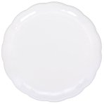 Catering White Plastic Trays 30cm - 24 PC